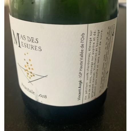 Mas des Mesures Vin de France blanc pet nat Fractale 2018