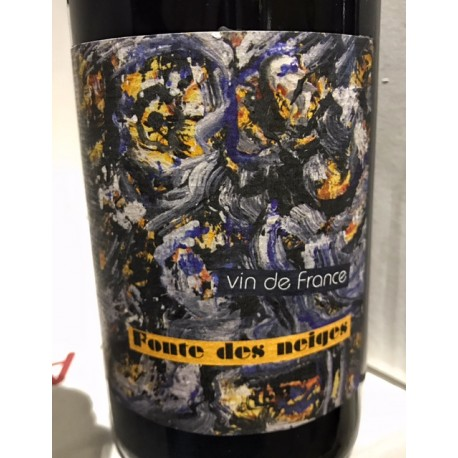 Daniel Sage Vin de France syrah L'Evêque aux Yeux de Pierre 2014 Magnum