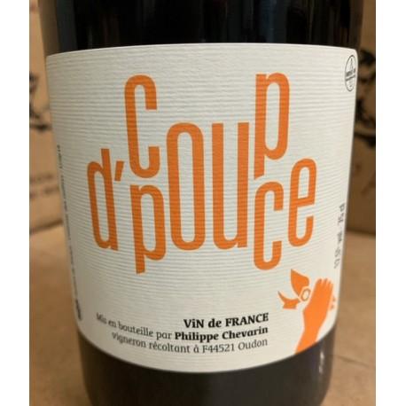 Philippe Chevarin Vin de France rouge Coup d'Pouce 2019