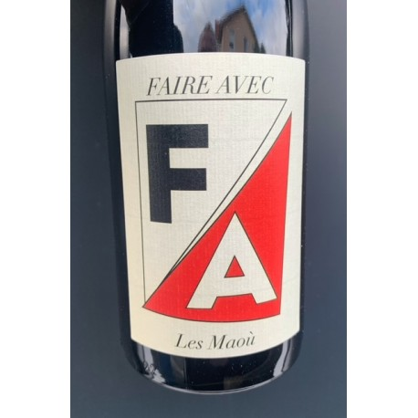 Les Maoù Vin de France rouge Faire Avec 2019