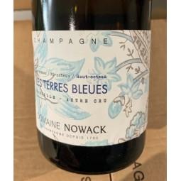Flavien Nowack Champagne Extra Brut Pur Meunier Les Terres Bleues 2016