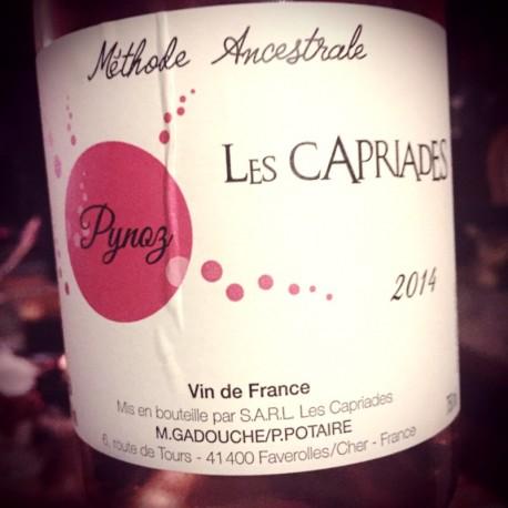 Les Capriades Vin de France rosé Pinoz 2014
