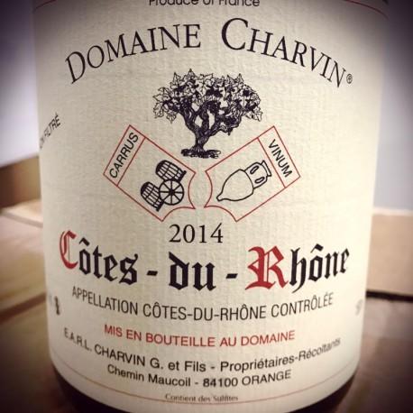Domaine Charvin Côtes du Rhône 2014 Magnum