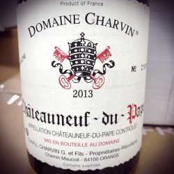 Domaine Charvin Chateauneuf du Pape 2013