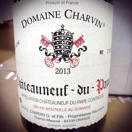Domaine Charvin Chateauneuf du Pape 2013