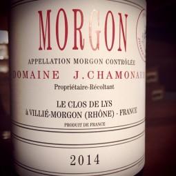 Domaine Chamonard Morgon 2013