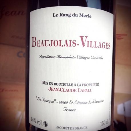 Jean-Claude Lapalu Beaujolais-Villages Le Rang du Merle 2015 Magnum