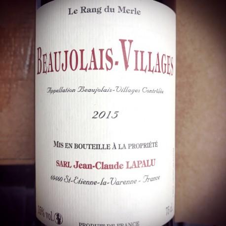 Jean-Claude Lapalu Beaujolais- Villages Le Rang du Merle 2015