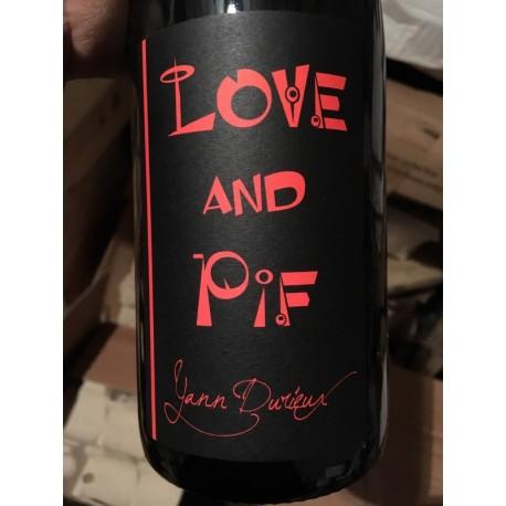 Yann Durieux Vin de France Love and Pif 2014