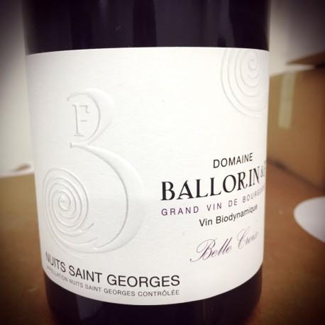 Domaine Ballorin & F Nuits Saint Georges Les Belle Croix 2014