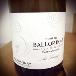 Domaine Ballorin & F Marsannay blanc Au Larrey 2014