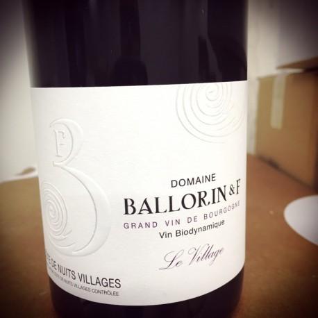 Domaine Ballorin & F Côtes de Nuits-Villages Le Village 2014