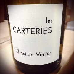 Christian Venier Cheverny blanc Les Carteries 2015