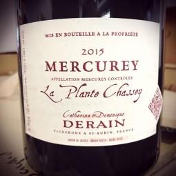 Domaine Derain Mercurey Plante Chassey 2015 Magnum
