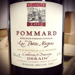 Domaine Derain Pommard Les Petits Noizons 2012 Magnum