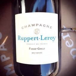 Ruppert-Leroy Champagne Blanc de Noirs Brut Nature Fosse Grély 2015