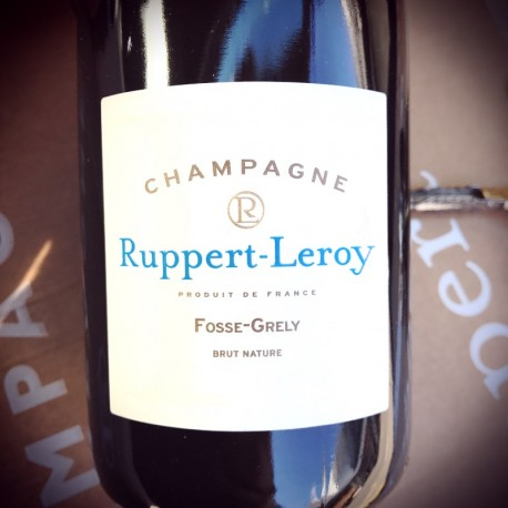 Ruppert-Leroy Champagne Blanc de Noirs Brut Nature Fosse Grély 2013