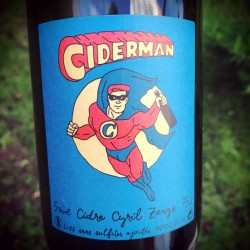 Cyril Zangs Cidre Brut Ciderman 2015