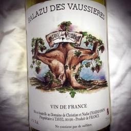 Balazu des Vaussières Vin de France rouge Dent de Lion 2013