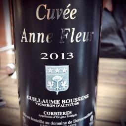 Domaine de Dernacueillette Corbières Anne Fleur 2013
