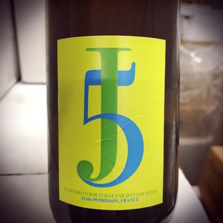 Jean-François Coutelou Vin de France blanc 5J