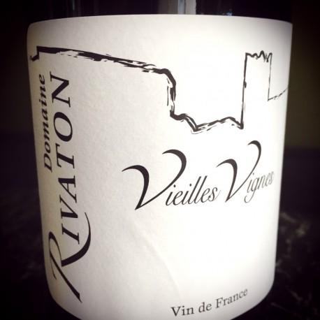 Domaine Rivaton Vin de France rouge Vieilles Vignes 2012