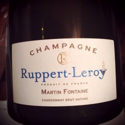 Ruppert-Leroy Champagne Blanc de Blancs Brut Nature Martin Fontaine 2011