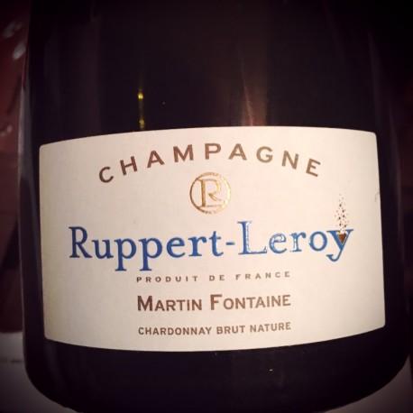Ruppert-Leroy Champagne Blanc de Blancs Brut Nature Martin Fontaine 2011